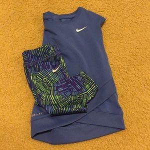 Nike Girls Capri & Tunic set